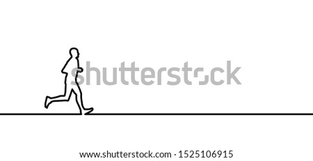 Run runner running sportsman silhouette Marathon Line pattern vector icon icons sign signs fun fun funny Olympics Olympic gamer game 2020 Tokyo Japan Sport sports jogger fitness man woman walk walking