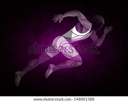 runner  jogging  sprinter