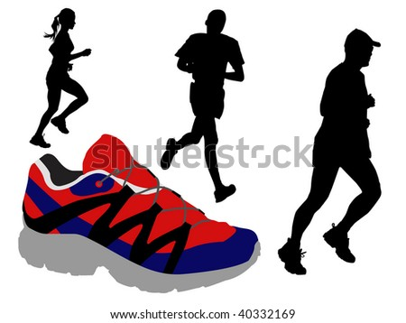 runners and shoe
