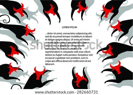 running bulls horizontal page