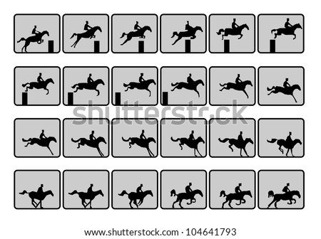 running horse sequence