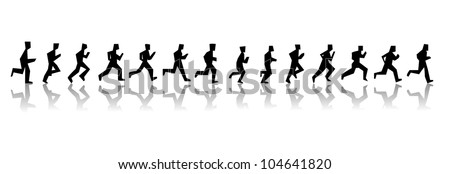running man sequence