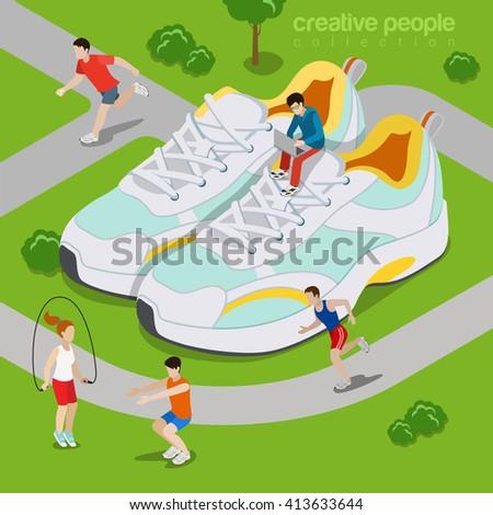 running outdoor sports