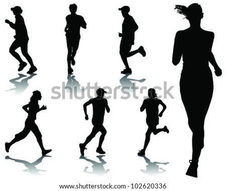 stock-vector-running-silhouettes-vector