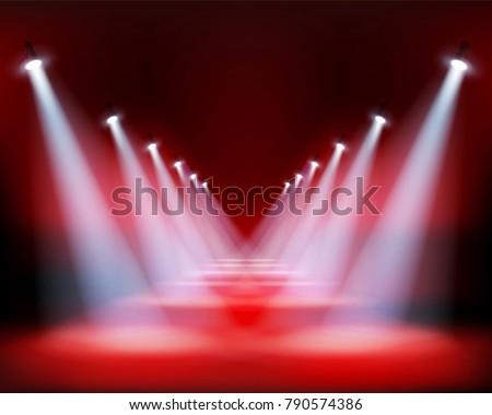 runway show  light performance