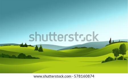 Rural landscape - Shutterstock ID 578160874