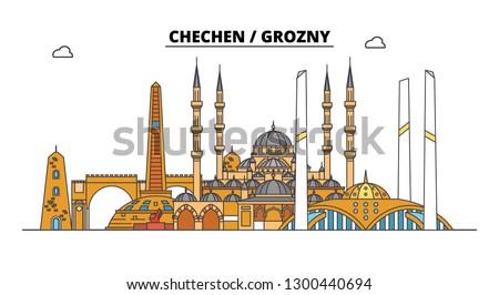 russia  chechen  grozny city