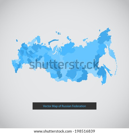 russia map vector background