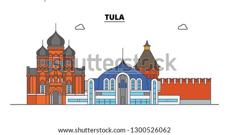 russia  tula city skyline