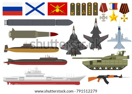 russian army military vector