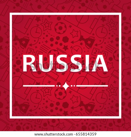 russian background  world of