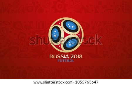 russian ball and cup wallpaper
