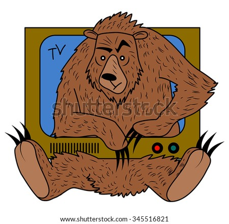 russian bearish tv television