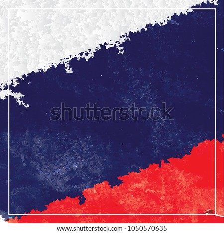 russian country vector flag