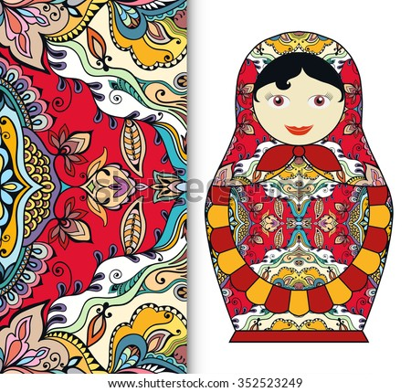 russian doll fun toy souvenir