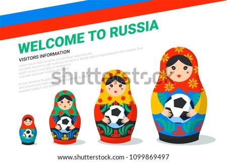 russian matrioshka banner