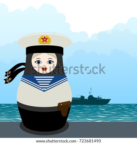 russian nesting doll in