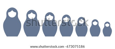 russian nesting doll matrioshka