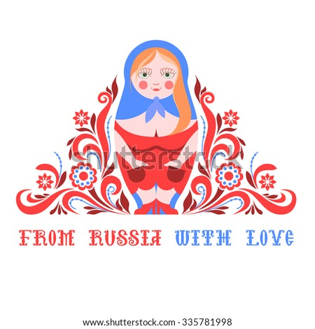 russian traditional doll