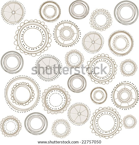 Rustic Background Vector Rustic Background Pattern With