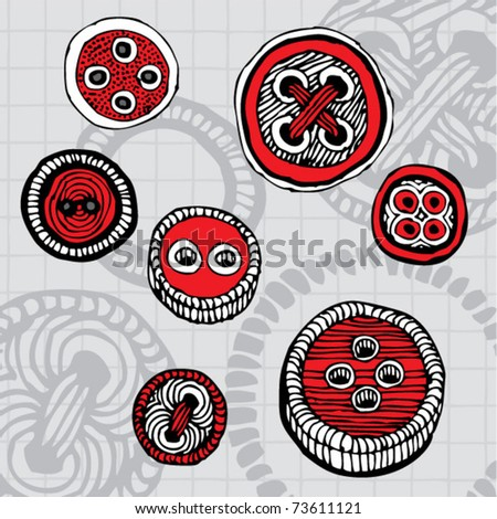 rustic buttons naive