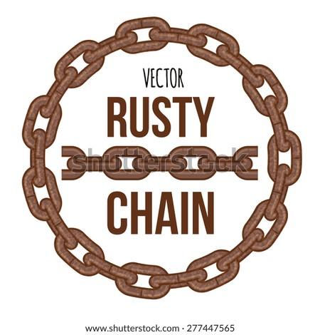 rusty chain ring emblem