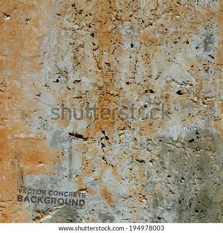 Rusty Concrete texture vector background