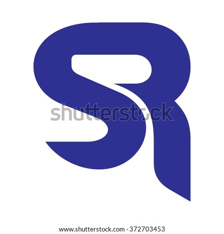 s and r logo vector