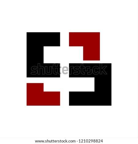 S, CS, CC, CD, CCD, CSD initials company logo