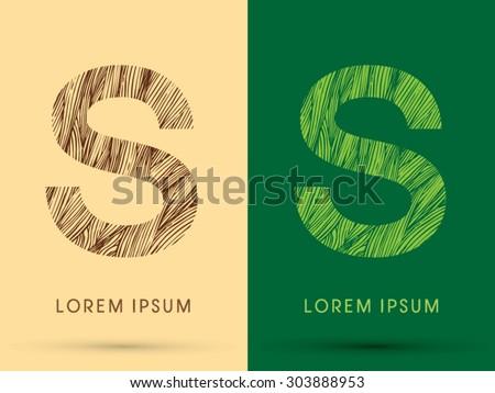 s  font  concept line stroke