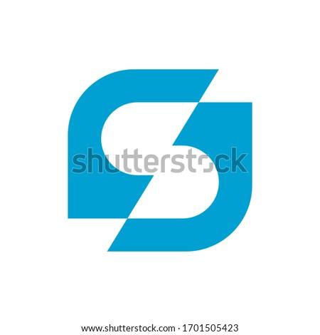 S Industrial Iconic Logo Design