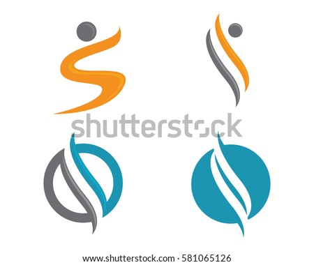 stylized people logo download free vector art stock graphics images