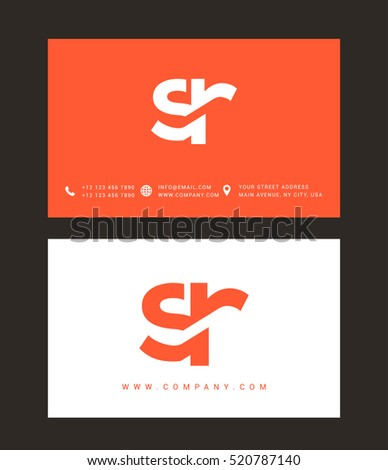 s   r letters logo with