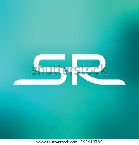 s r logo design