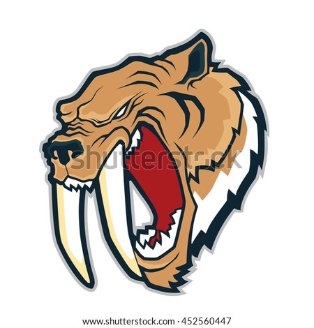 sabertooth tiger mascot
