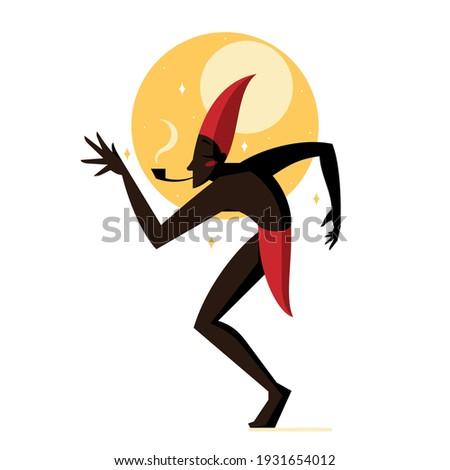 Saci, character of Brazilian folklore Stock photo ©