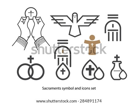 Free Sacraments Icon Set Download Free Vector Art Stock Graphics