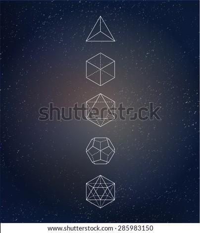 sacred geometry. alchemy ...