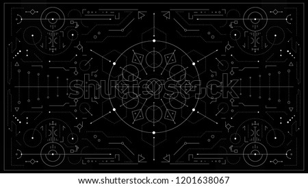 sacred geometry background
