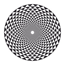 Sacred geometry, crown chakra lotus, sunflower mandala, vector illustration