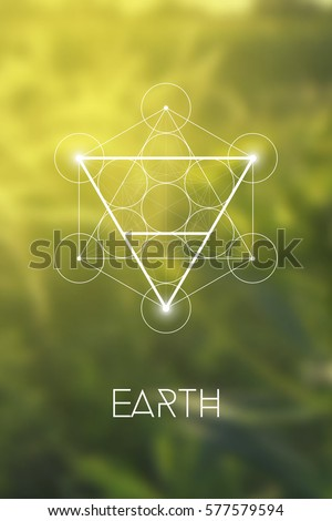 Vector Images Illustrations And Cliparts Sacred Geometry Earth