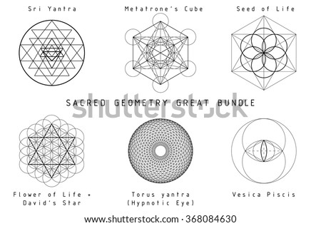 Sacred Geometry great bundle with titles.