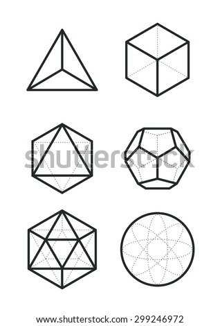 sacred geometry   platonic