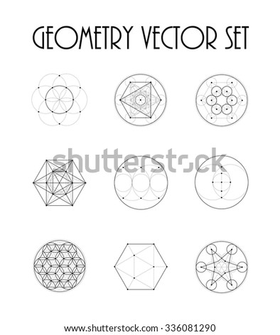 sacred geometry set 3