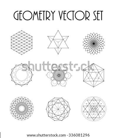 sacred geometry set 1