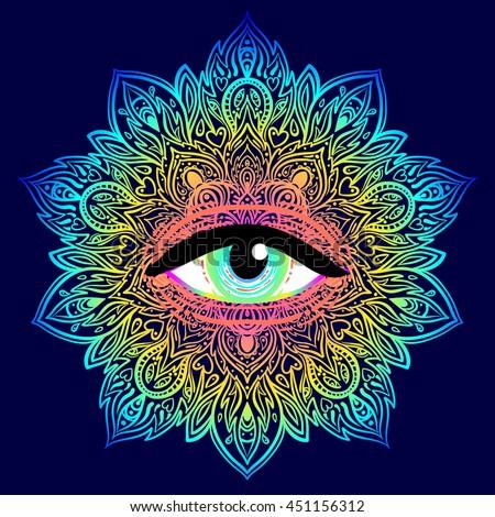 Hippie Occult Graphic Design