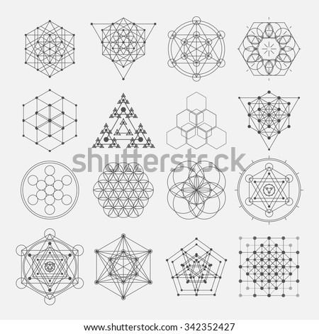 sacred geometry vector design