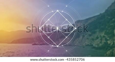 sacred geometry web banner