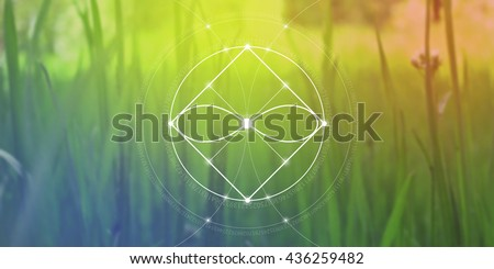 sacred geometry web banner