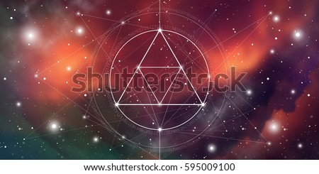 sacred geometry website banner